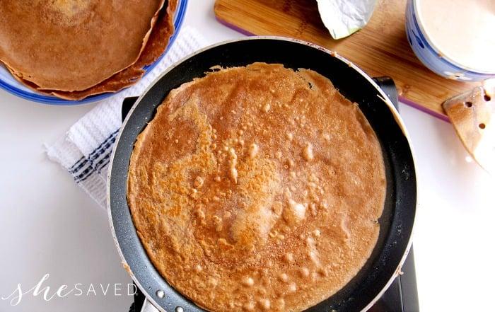 Chocolate Crepe Recipe