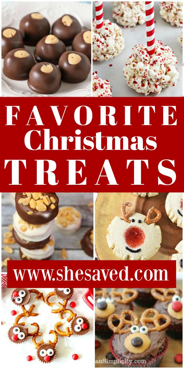Christmas Treats and Favorite Recipes