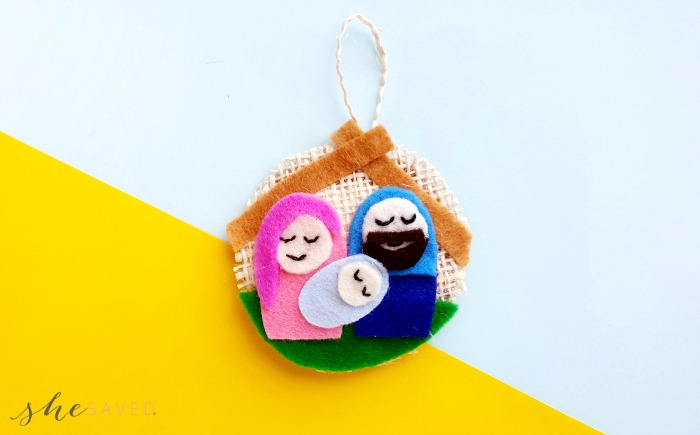 DIY Felt Nativity