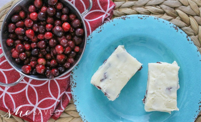 This Easy Cranberry Fudge will be your new favorite go-to ... just THREE ingredients!