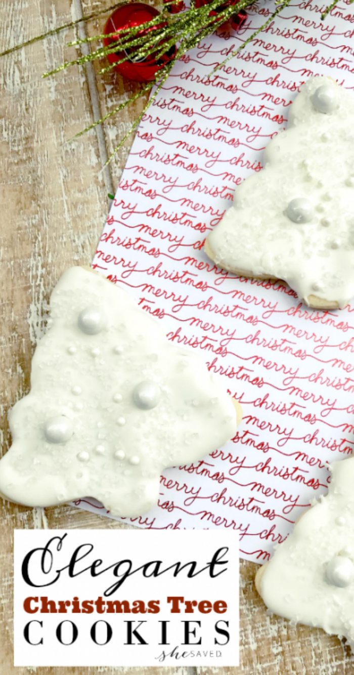 Elegant Tree Cookie Recipe
