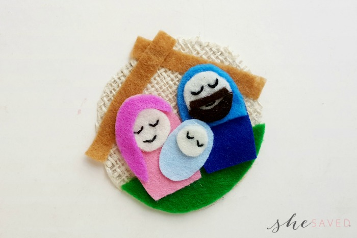 Felt Nativity craft