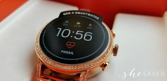 Fossil Gen 4 Venture HR Smartwatch