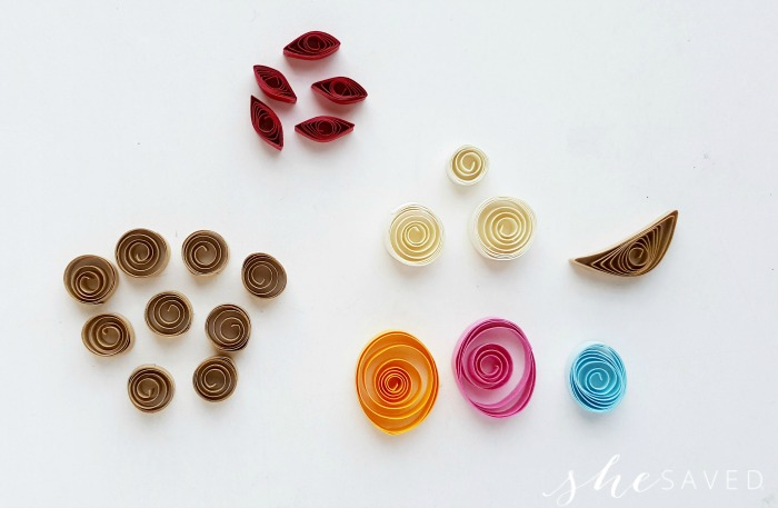 Paper Quilling Nativity