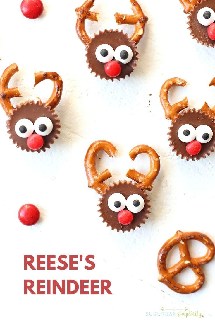 Reese's Reindeer Christmas Treats