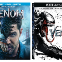 Venom on Blu-ray NOW