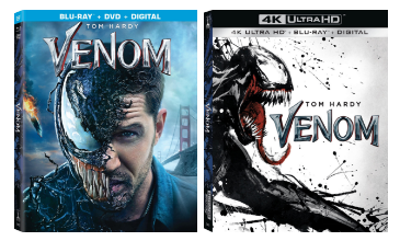 Venom Bluray