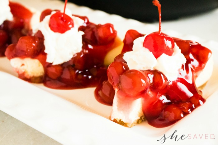 IP Cherry Cheesecake