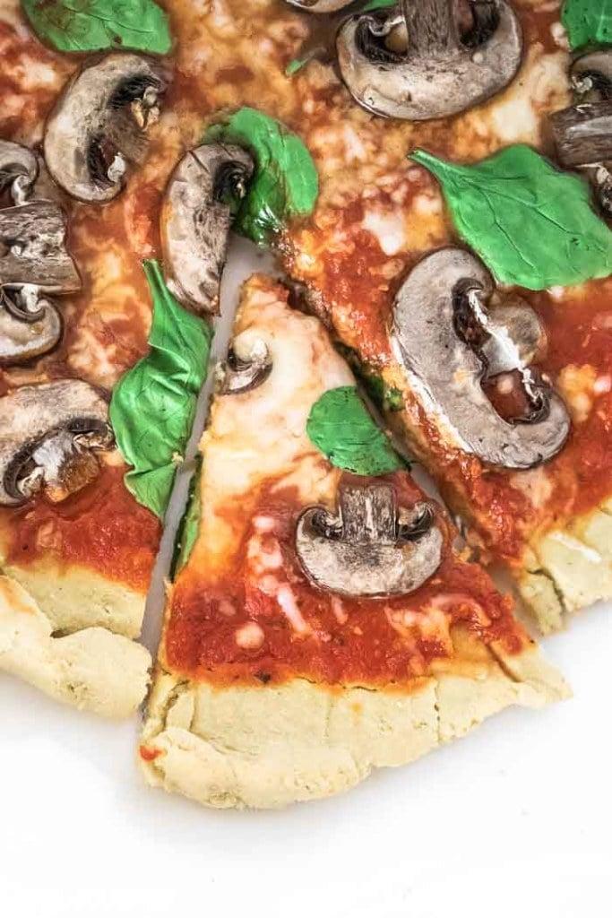 Keto Flatbread Pizza