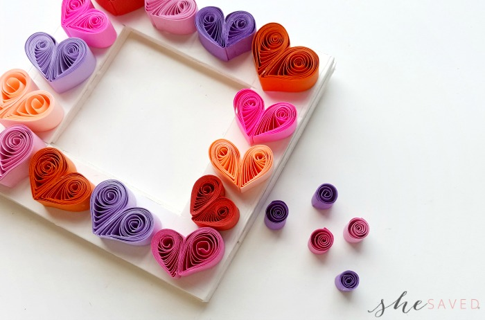 DIY Heart Frame