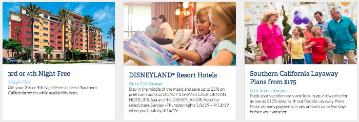 3rd Night Free at Disneyland