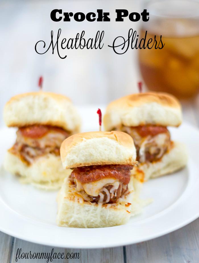 Crock Pot Meatballs Sliders