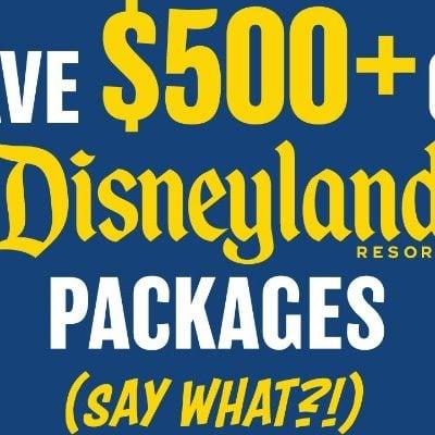 Save $500 at Disneyland