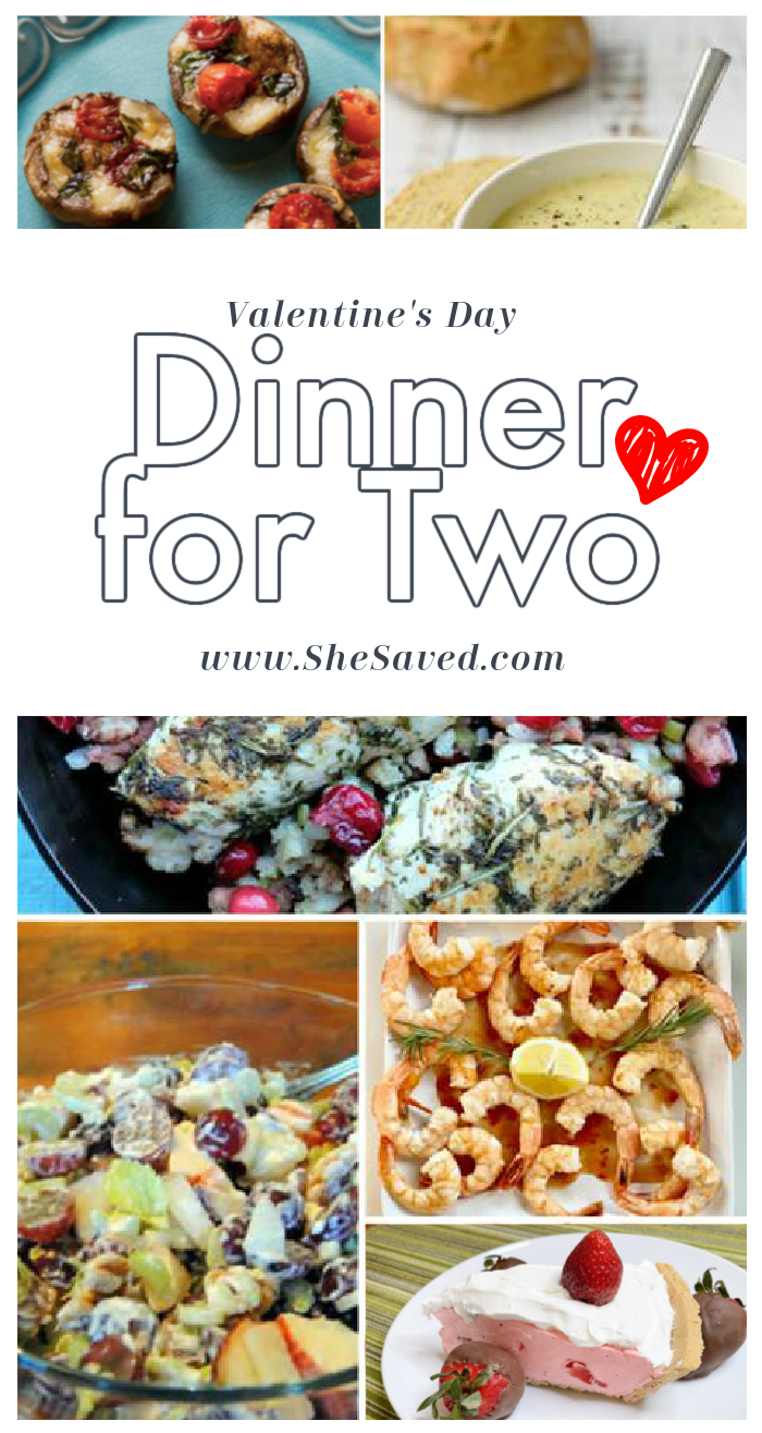 The perfect Valentine's Day Dinner for Two Desserts and Appetizer Recipes