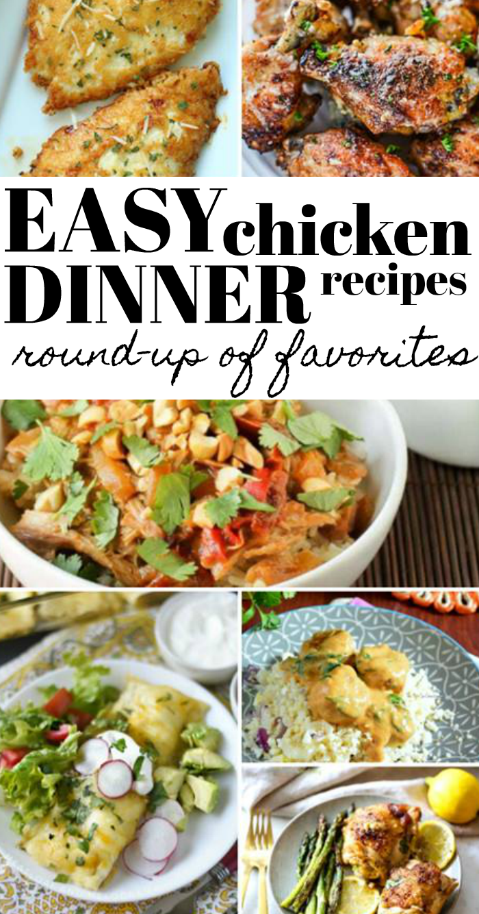 Easy Chicken Dinner recipes from around the web