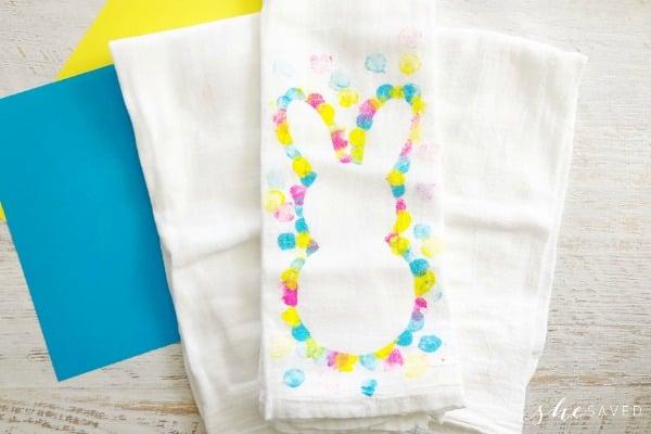 Bunny Tea Towel