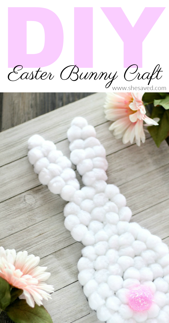 Easy DIY Easter Bunny Craft