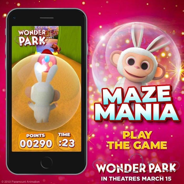 Wonder Park Activities
