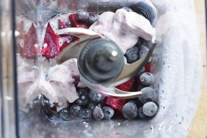 Blueberry Beet Smoothie blender