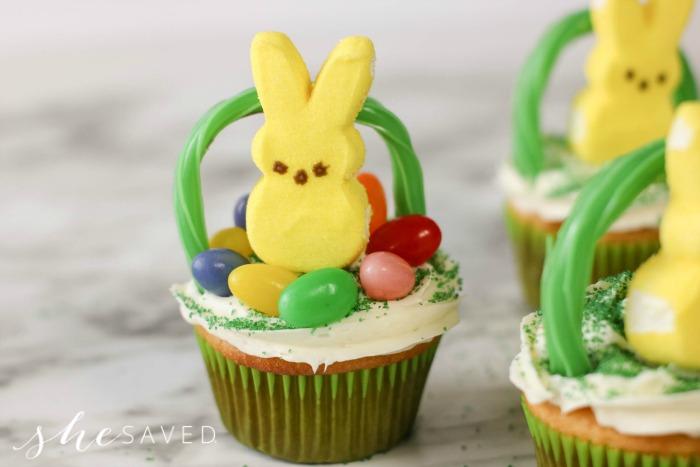 Easter Peep Cupcake
