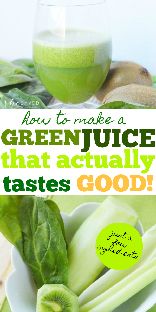 How to make a green juice recipe