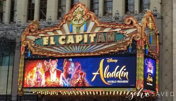Aladdin Premiere