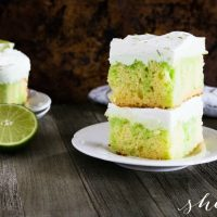 EASY Lime Poke Cake Recipe