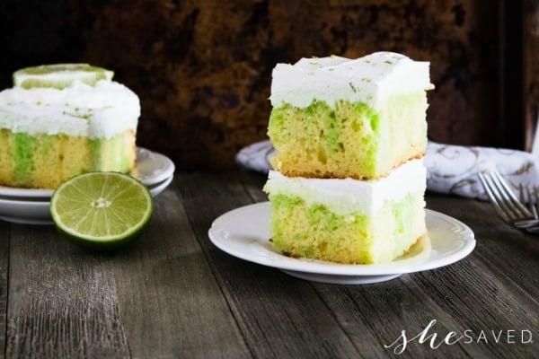 Lime Poke Cake