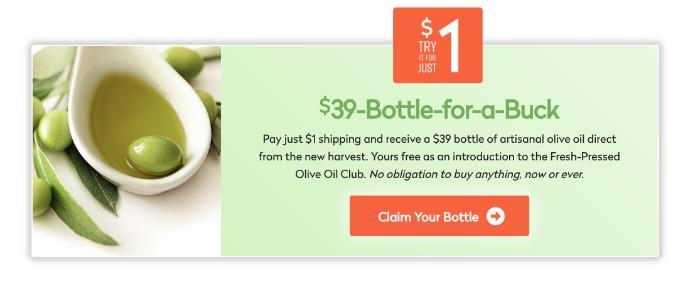 Olive Oil Offer
