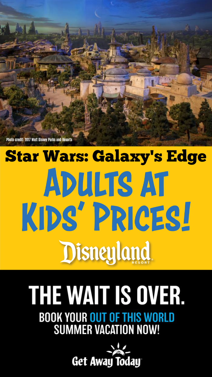 Star Wars Galaxy Edge Tickets
