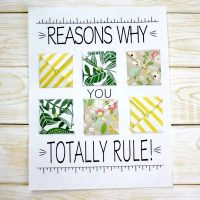 """Teachers Totally Rule"" Teacher Appreciation Gift Idea + FREE Printable"