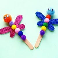 DIY Easy Dragonfly Craft Project
