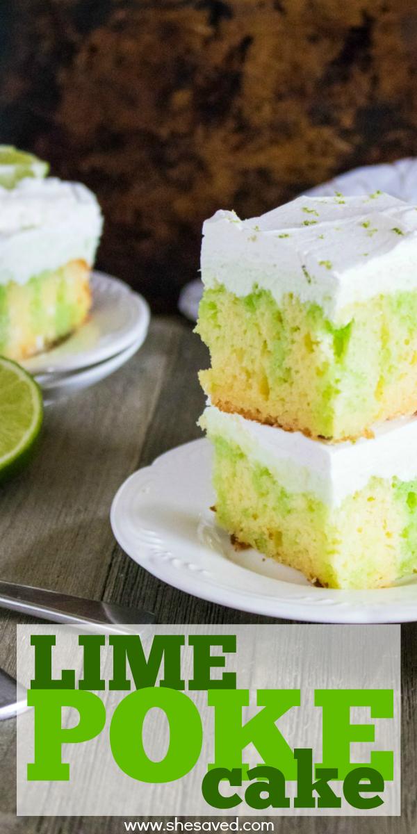 Lime Poke Cake Recipe