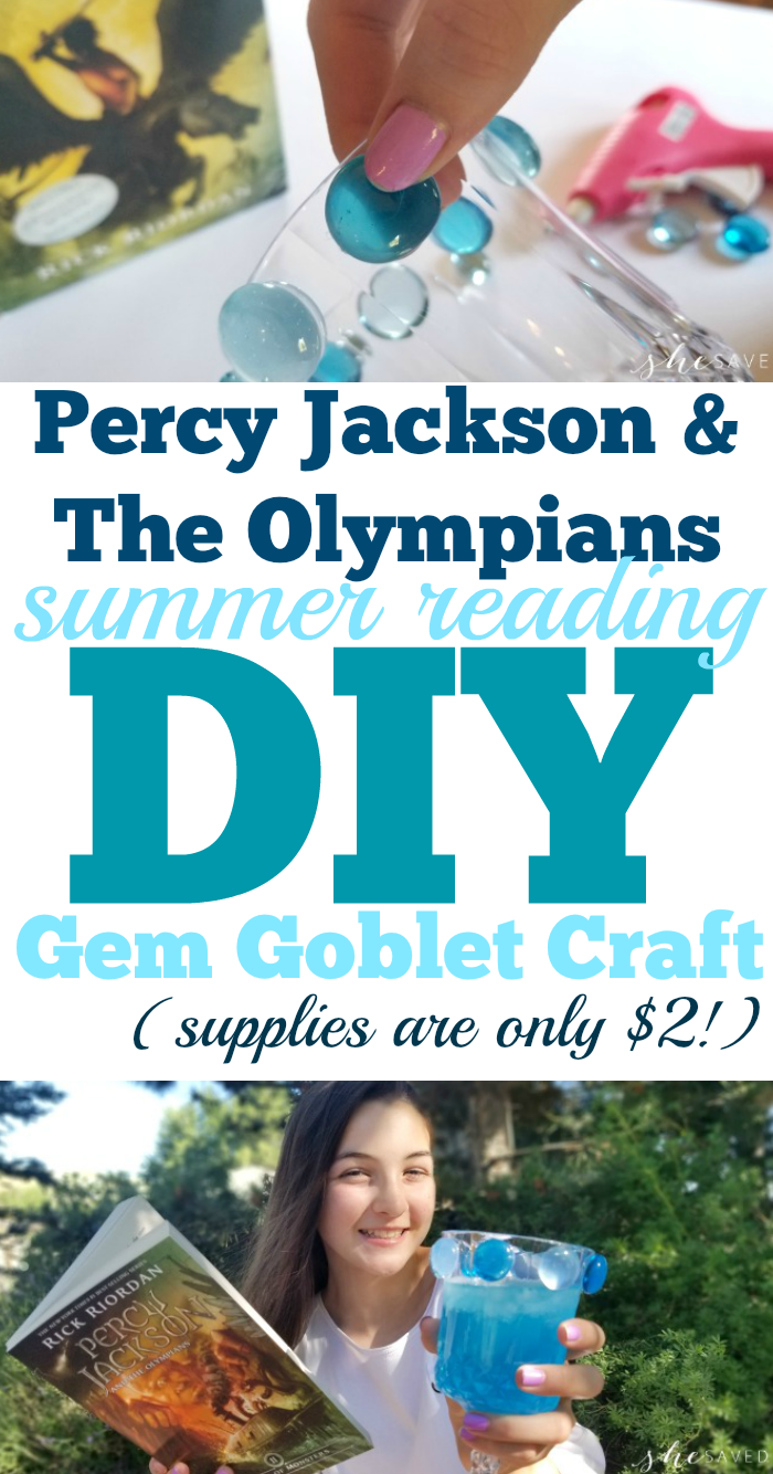 DIY Gem Goblet Craft