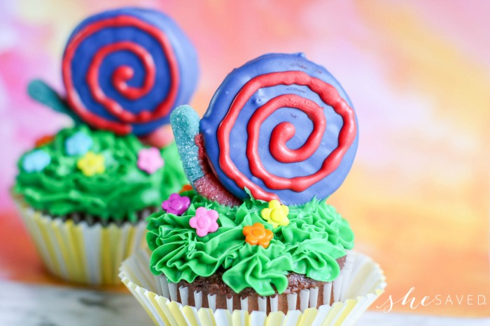 How to make Snail Cupcakes