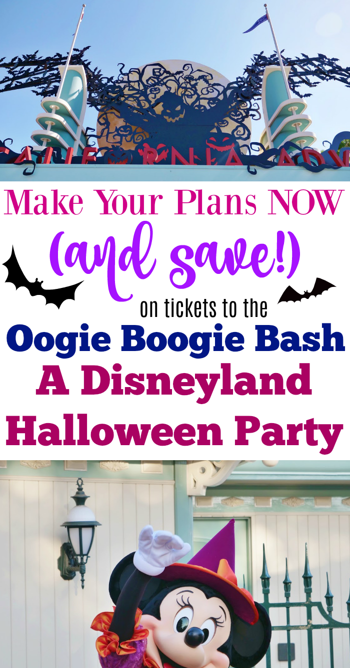 Oogie Boogie Halloween Party.Make Your Plans Now For The Oogie Boogie Bash A Disney