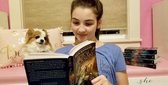 Percy Jackson Olympian book 1