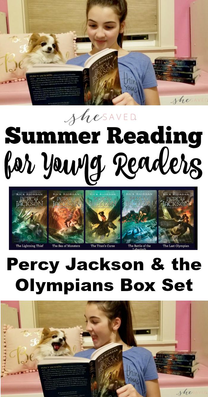 Summer Reading Percy Jackson