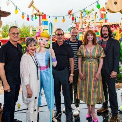 Toy Story 4 Cast Photo
