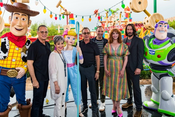 Toy Story 4 Cast Photo