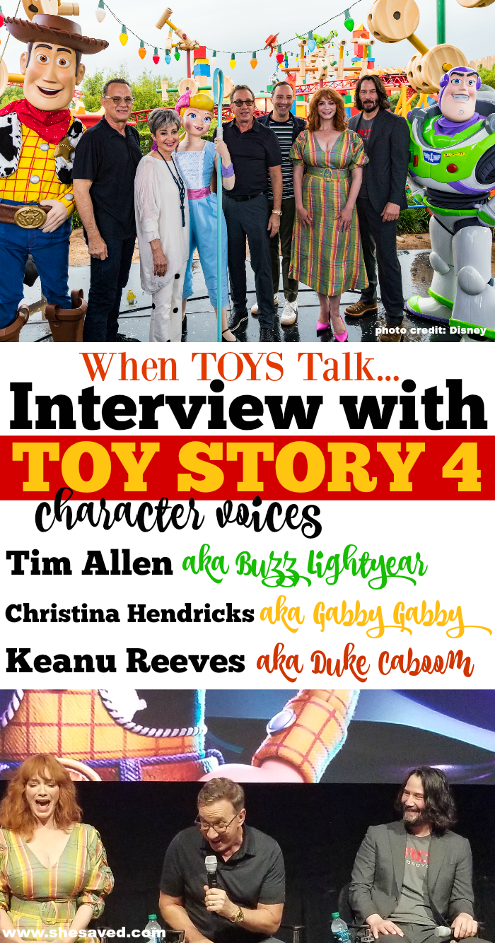 Toy Story 4 Character Interviews