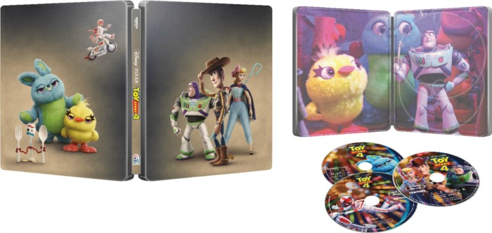 Toy Story 4 Steel Case Set