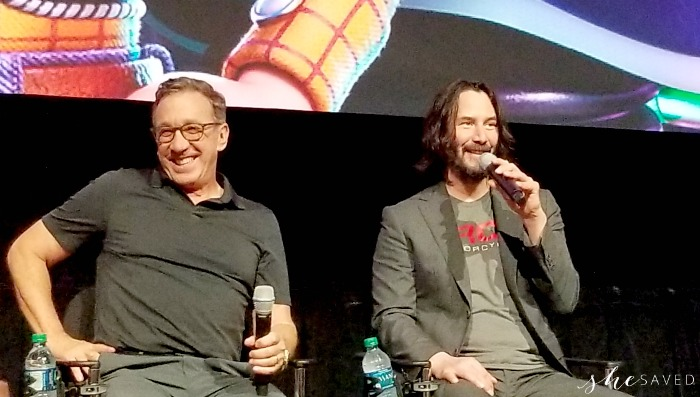 Toy Story 4 Tim allen and Keanu Reeves interviews
