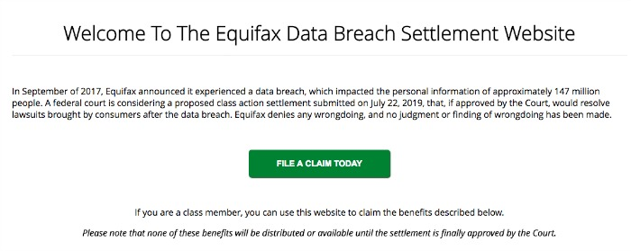Equifax Data Breach Information