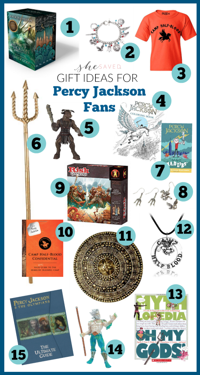 Gift Ideas for Percy Jackson Fans