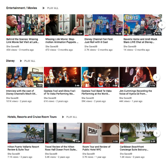 Check out all of the videos on the She Saved YouTube Channel!