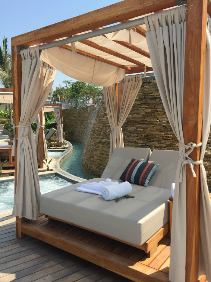 private cabana area at Marival Armony
