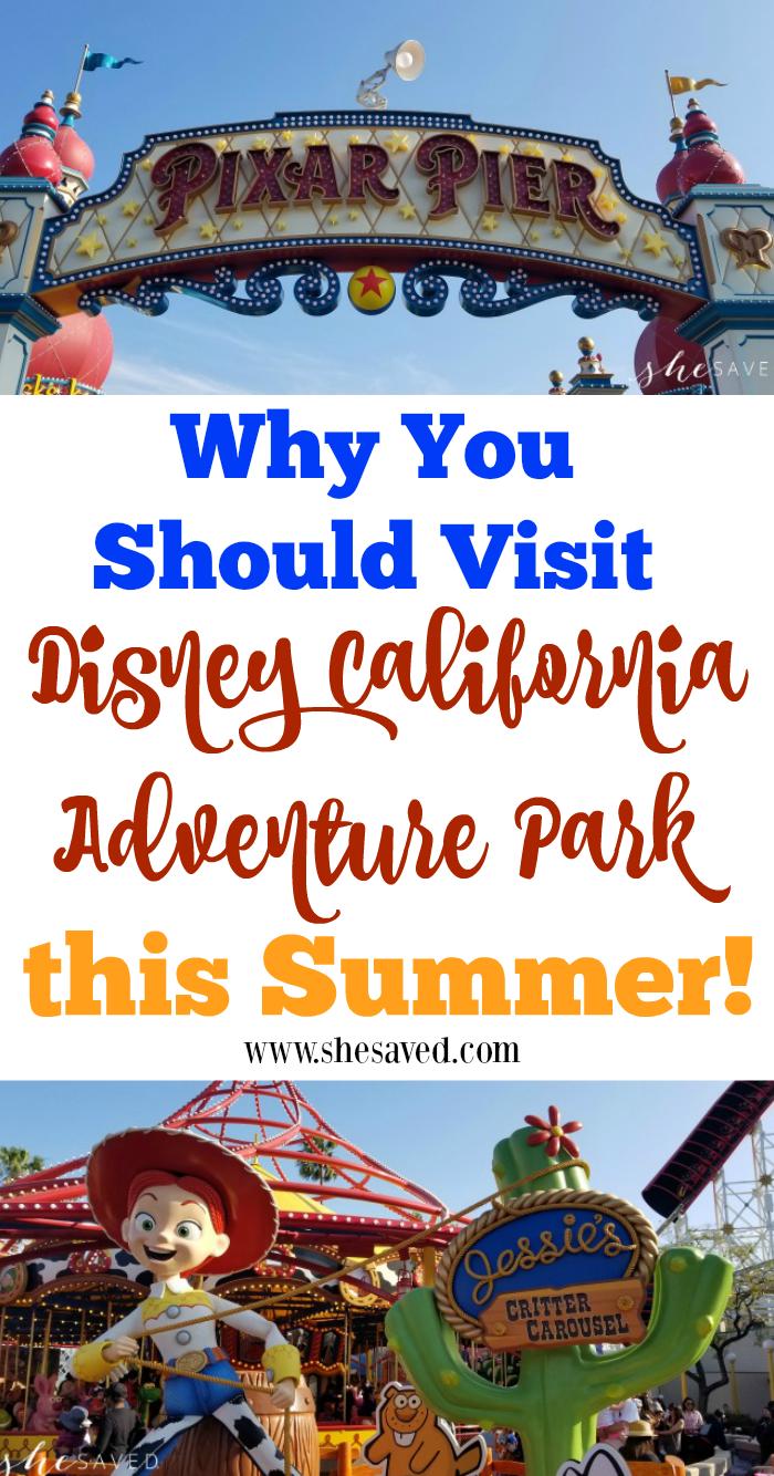 visit Disney California Adventure
