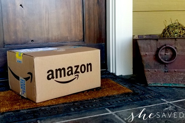 Amazon Smile on my Doorstep