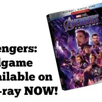 Marvel Studios Avengers: Endgame Available on Blu-ray NOW!